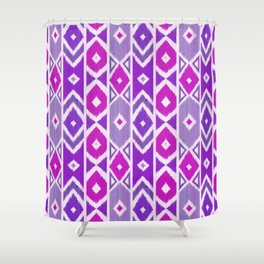 Wood Boho 5 Shower Curtain