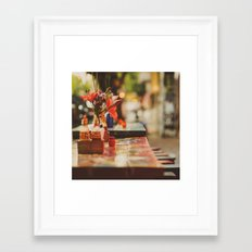 Summer early evening Framed Art Print