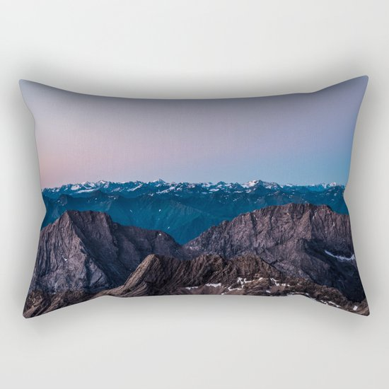 Taking the Long Way Around Rectangular Pillow