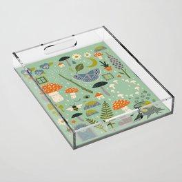 Fairy Garden Acrylic Tray