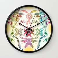 bohemian Wall Clocks featuring Bohemian  by famenxt