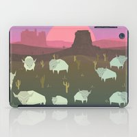 bison iPad Cases featuring Bison by N1MH