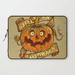 Halloween dark khaki Laptop Sleeve