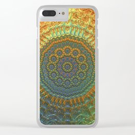 My Impression of a Mandala Clear iPhone Case