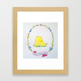 Mother's Day Birds Framed Art Print