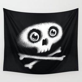 Skull & bones Wall Tapestry
