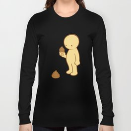 Chocolate Flavor  Long Sleeve T-shirt