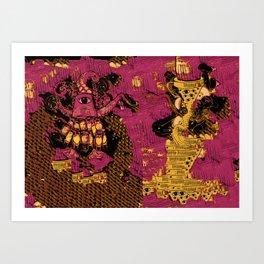 Mashines Art Print