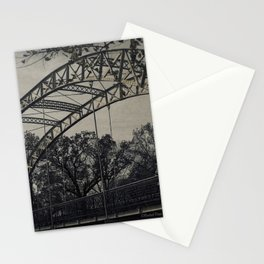 Rustic Steel Bridge Architectural Industrial A173 Stationery Cards