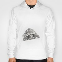 tortoise Hoodies featuring Tortoise by Vicky Lewis