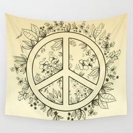 Flower of Pacific Wall Tapestry