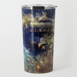 Abstract american football Travel Mug