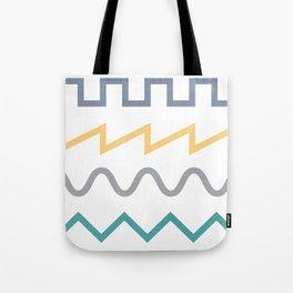 Waveform Tote Bag