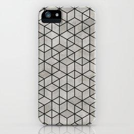 Random Concrete Cubes iPhone Case