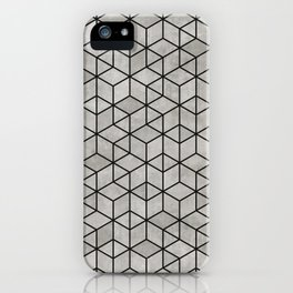 Random Concrete Cubes iPhone Case