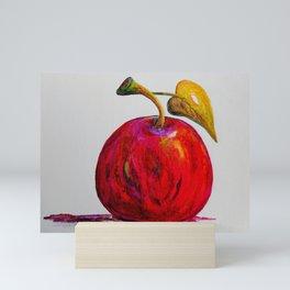 Kaleidoscope Apple or APPLE FOR THE TEACHER Mini Art Print