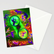 sacrificial circle Stationery Cards
