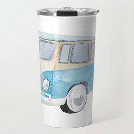 Bully Light Blue Travel Mug