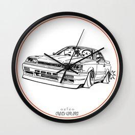 Crazy Car Art 0192 Wall Clock