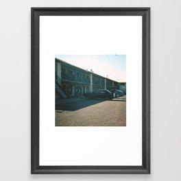 Route 66 Motel Framed Art Print