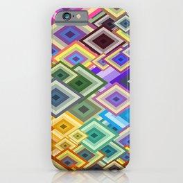 geometric colour iPhone Case