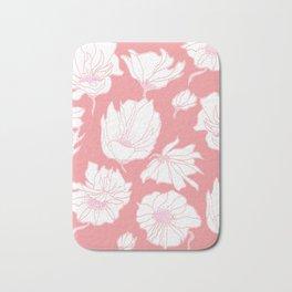 Bloomin' Pink Bath Mat