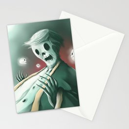 The haunted thoughts Stationery Cards