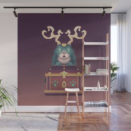 The Jackalope King's Chest Wall Mural