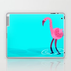 Flamingo illustration  Laptop & iPad Skin