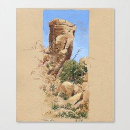 Climbing Hidden Valley Canvas Print