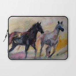 Wild Horses Laptop Sleeve