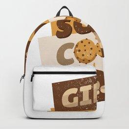 Girl Scout Cookie dealer Backpack