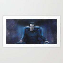 Captain Khan Art Print