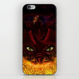 Red Dragon iPhone Skin