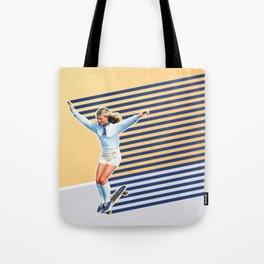 Skate Like a Girl 02 Tote Bag