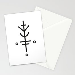 Luck will follow me Stationery Cards