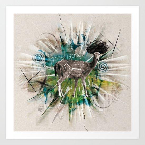 Greenspace Art Print