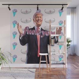 Kawaii Trump - Fuck You Wall Mural