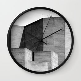 Brutalist Series - National Theatre #2 Wall Clock