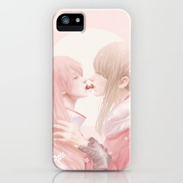 Cherry Kiss iPhone Case