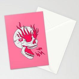 Skull Girl Classic Tattoo Stationery Cards