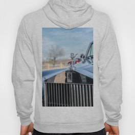 Vintage Car // Rolls Blue Paint Hood Ornament Silver Grille Classic Hoody