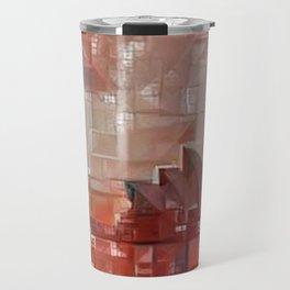 Sidney Opera Abstract Travel Mug