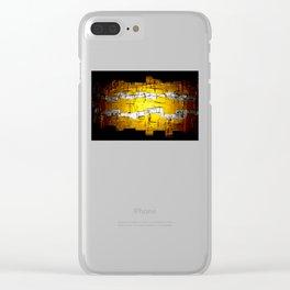 Golden Era Clear iPhone Case