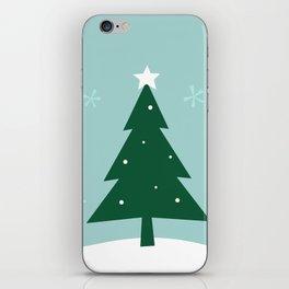 New folk artwork : xmas Tree iPhone Skin
