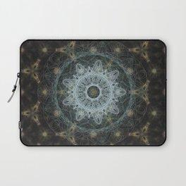 Golden Mandala Web Laptop Sleeve