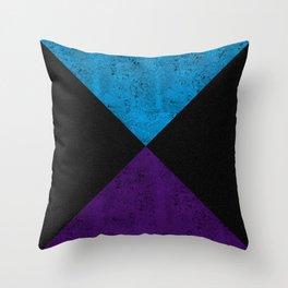 Nil, Kalo abong Beguni Patobhumi Throw Pillow