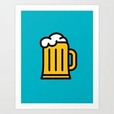Beer - Icon Prints: Drinks Series Art Print
