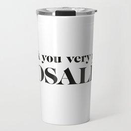 Rosalia Travel Mug