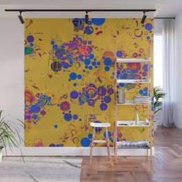 Vibrant Multi Color Abstract Design Wall Mural